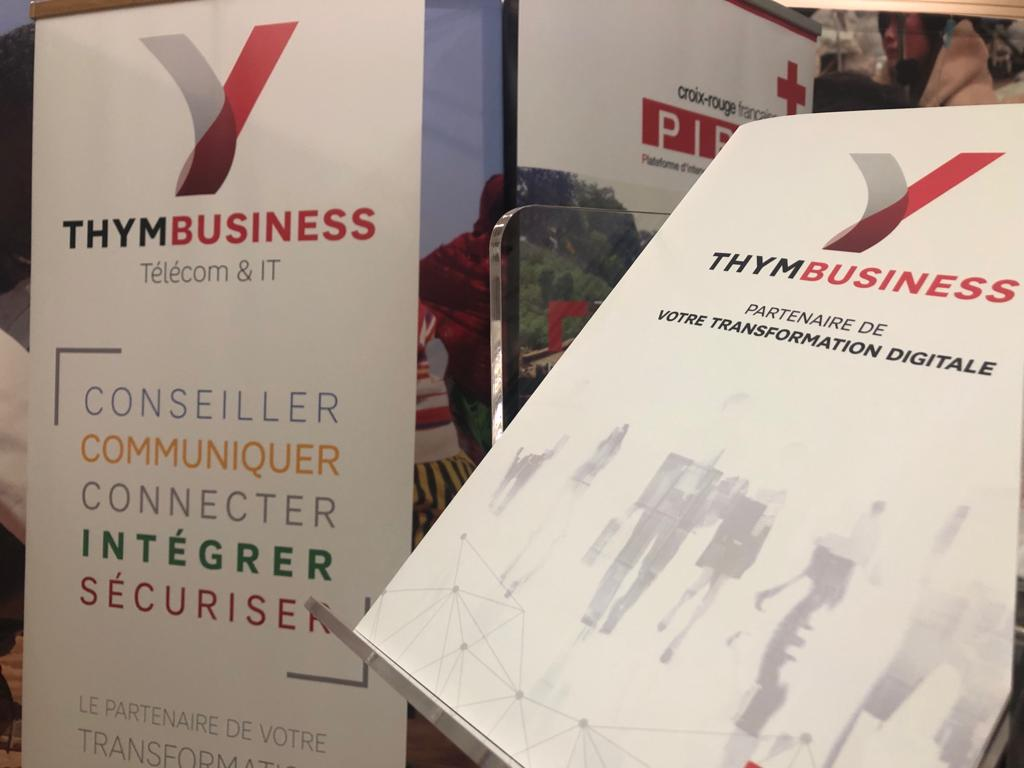 Roll up et plaquette THYM BUSINESS