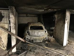 Incendie de sous-sol à LYON (69)