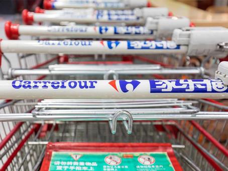 « Le Marché », nouveau concept digital né de l'alliance de Carrefour et Tencent