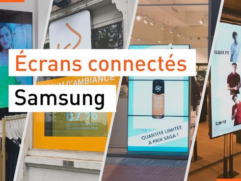 Écrans connectés Samsung : Installation simplifiée, pilotage flexible et sécurisé