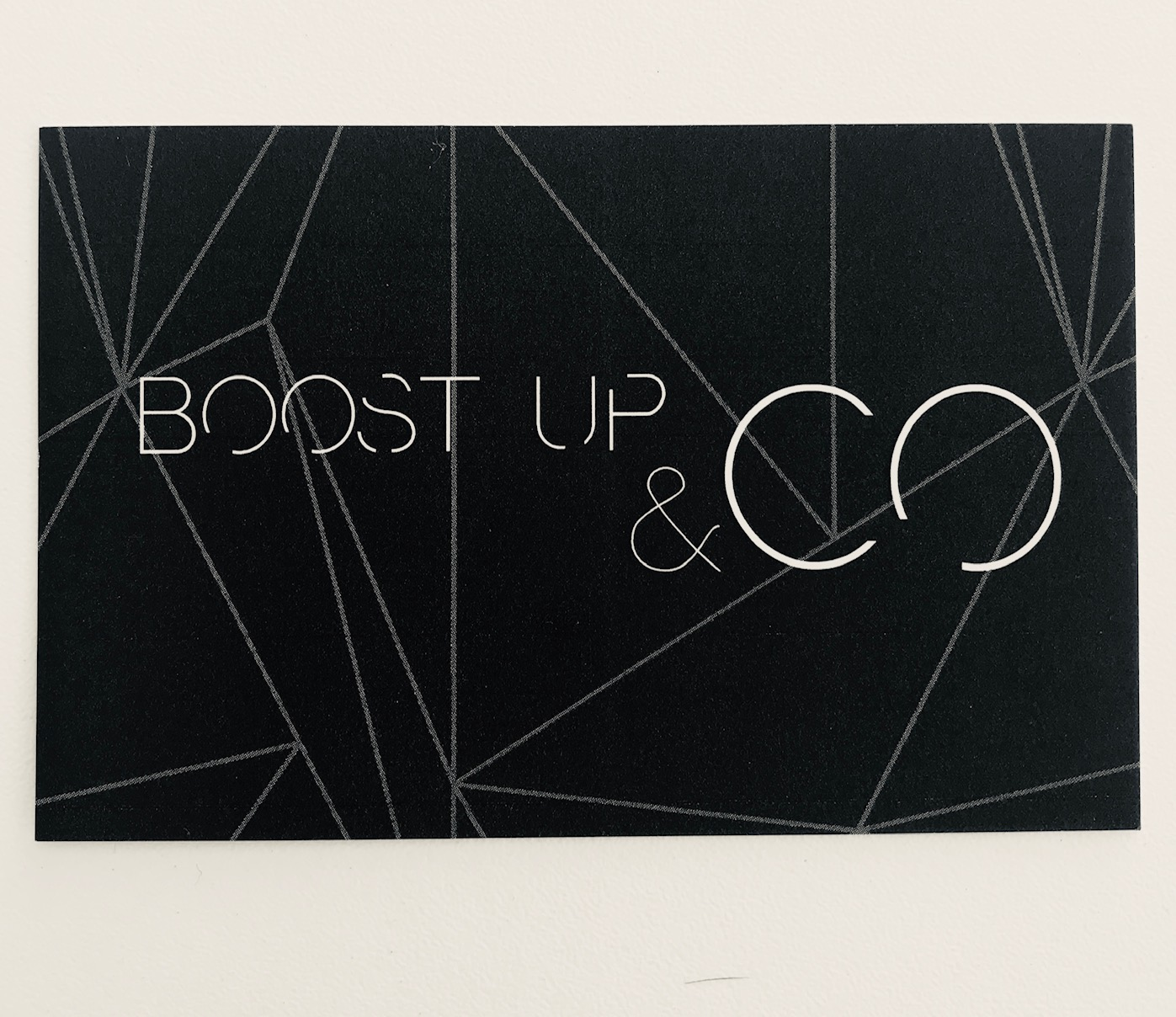 Carte de visite BOOST UP