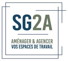 Logo SG2A, création essens consulting