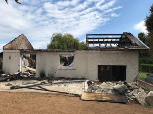 Incendie d'habitation à SAINT SORLIN DE MORESTEL (38)