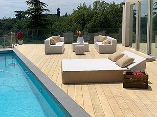 Bed extérieur piscine COZIP