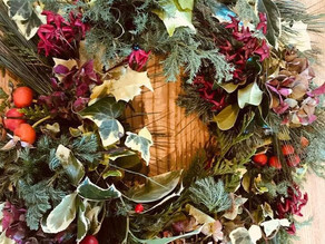 CHRISTMAS WREATHS @ THE PLOUGH