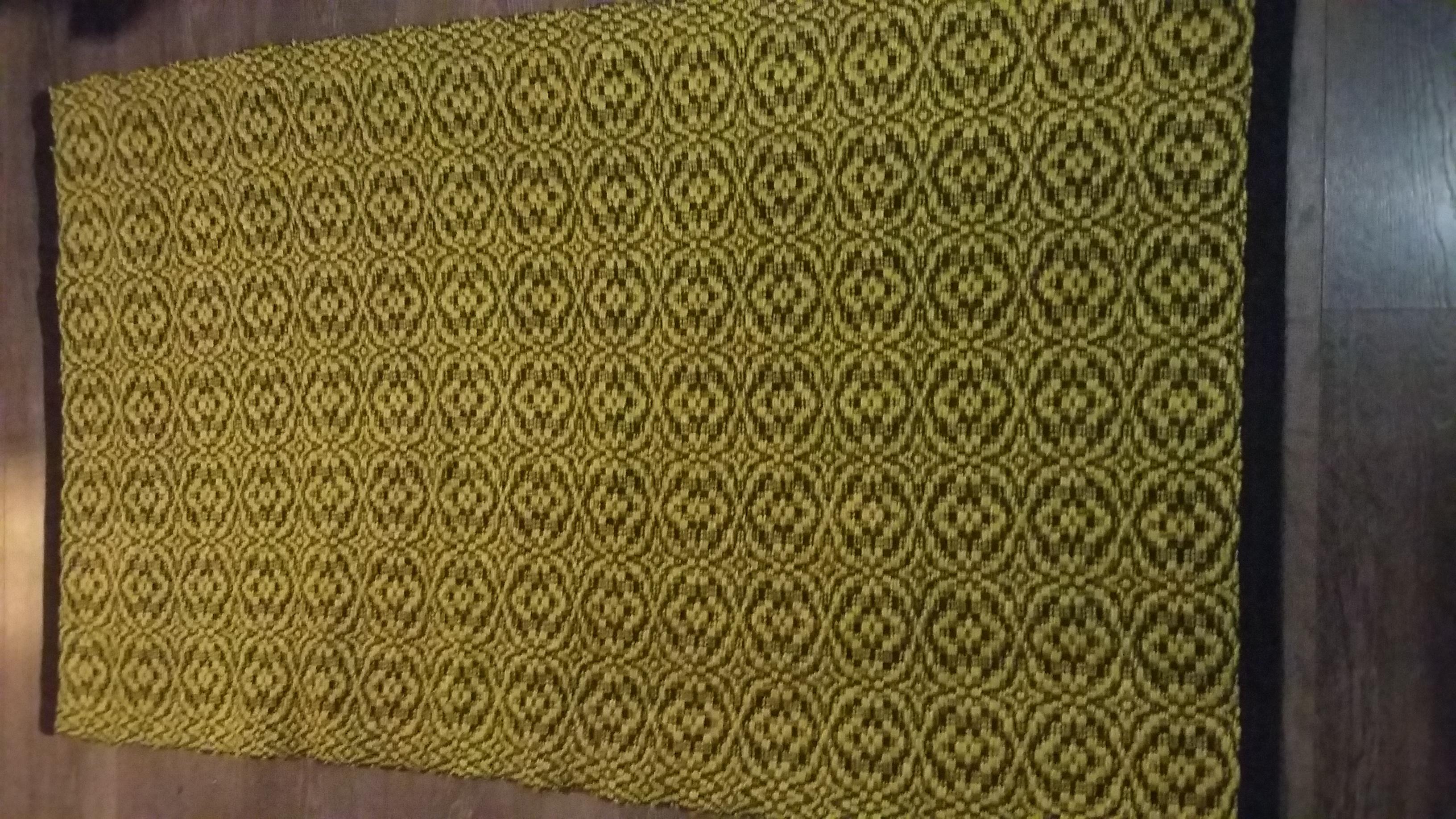 Pellavanarumatto, keltainen