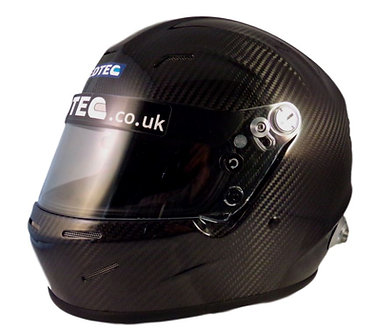 Hedtec Onyx 3 Carbon Full Face Helmet (FIA approved)