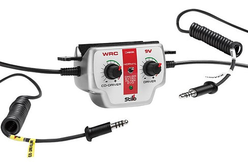 Stilo WRC DES 9v Rally Intercom Amplifier