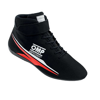 OMP Sport Race Boots Black FIA 8856-2018 Approved