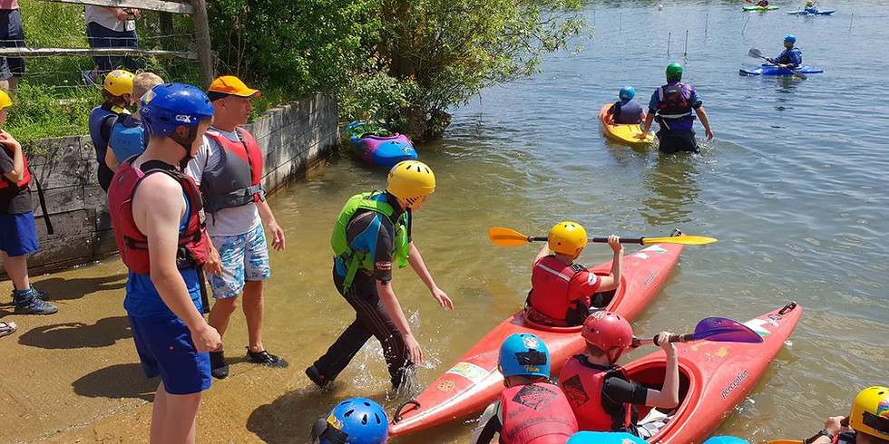 Koniki Part 2 - District Kayak Competition