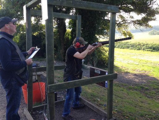 Clay Pigeon Shooting is BACK