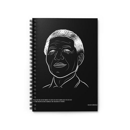 Nelson Mandela - Spiral Notebook