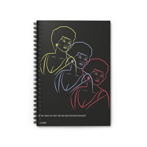 Etta James Notebook