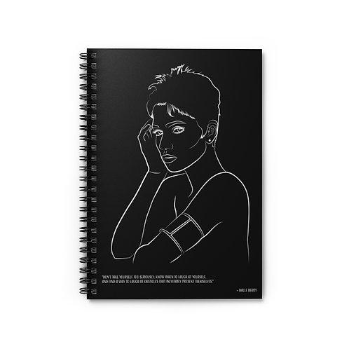 Halle - Spiral Notebook