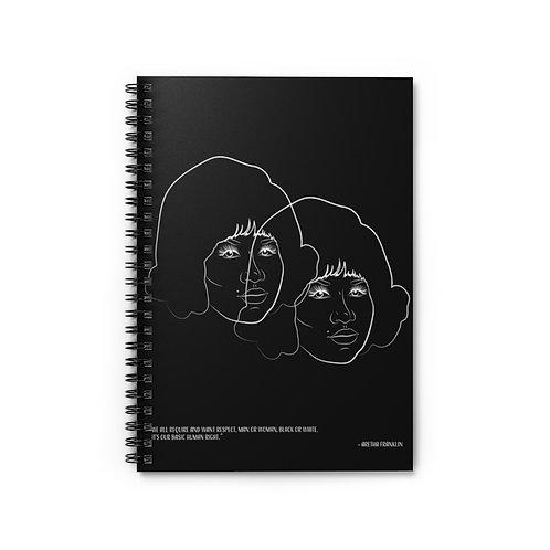 Aretha - Spiral Notebook