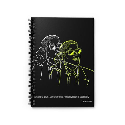 Stevie Wonder Notebook