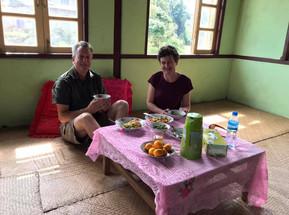 Local Lunch, Trek Pindaya