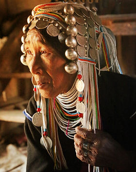 Akha Woman, Keng Tung, Shan Ste