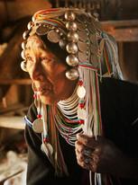 Akha Lady, Traditional Life, Kengtung Shan State
