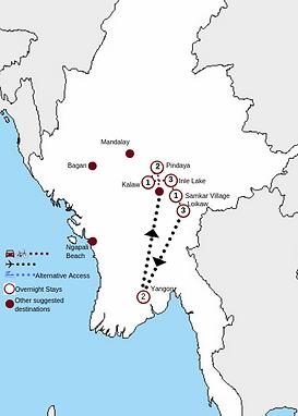 The Great Lakes of Shan & Kayah_13 Days_