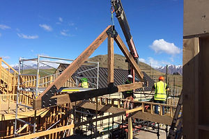 Hardwood trusses QTN Build.nz