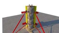 Опалубка колонны