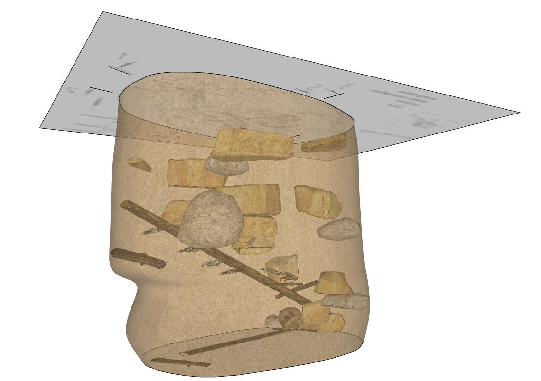 3D-модель раскопа