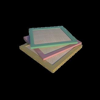 Три больших фильтра на прозрачном фоне в