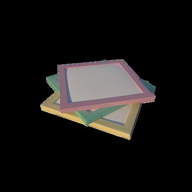 Три малых фильтра на прозрачном фоне с с