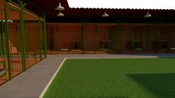Вид во внутреннем дворе