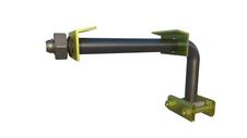 Держатель кабеля на трубке