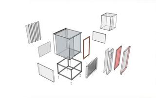 Взрыв схема холодильной камеры