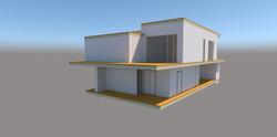 Эскизный проект 2-этажного дома