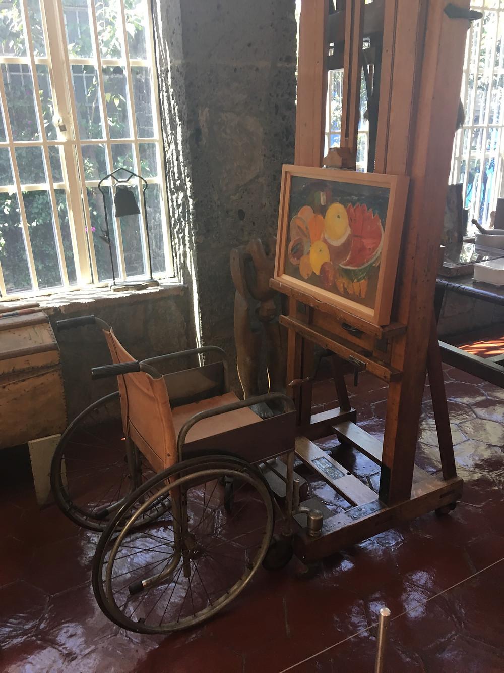 Frida Kahlo Wheelchair