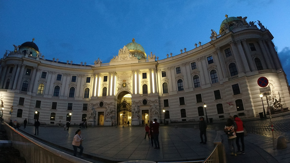 The Hofburg Baroque Palace