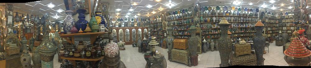 Shopping at the Grand Bazaar Tangier