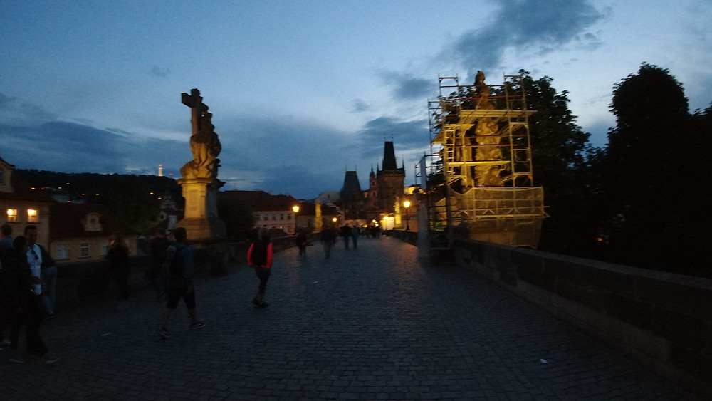 Nighttime Stroll on the Charles Bridge