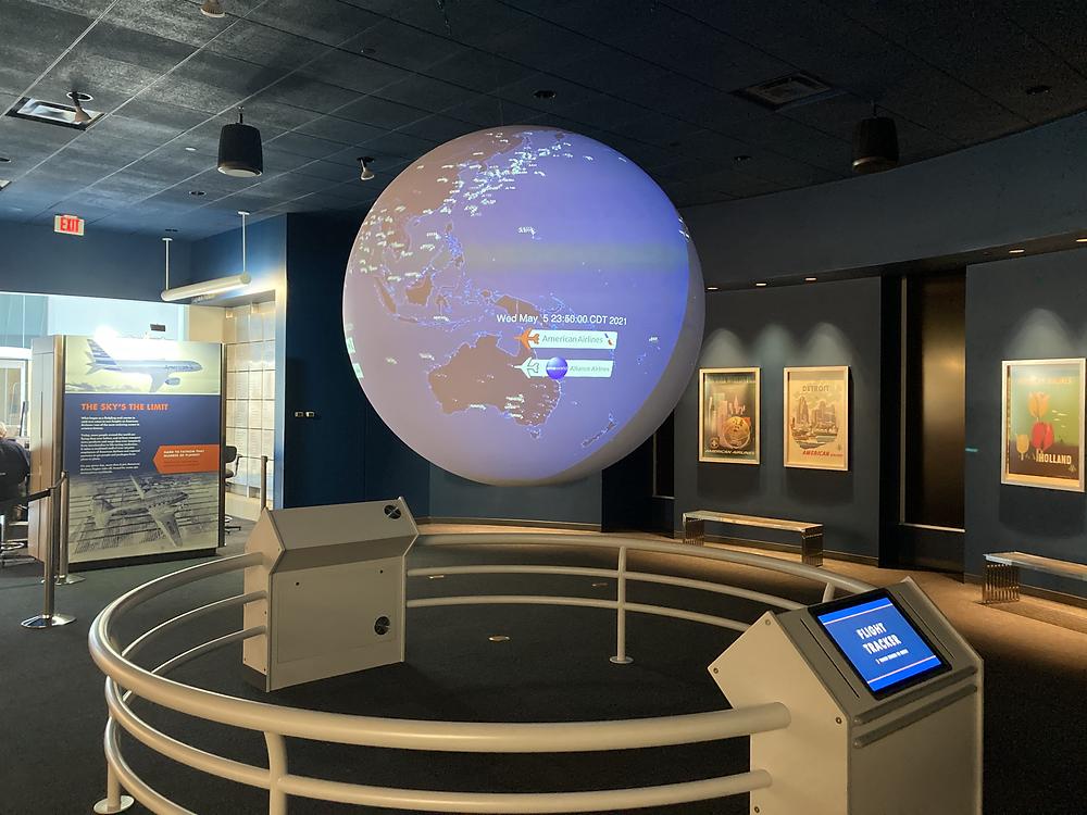 American Airlines Global Exhibit