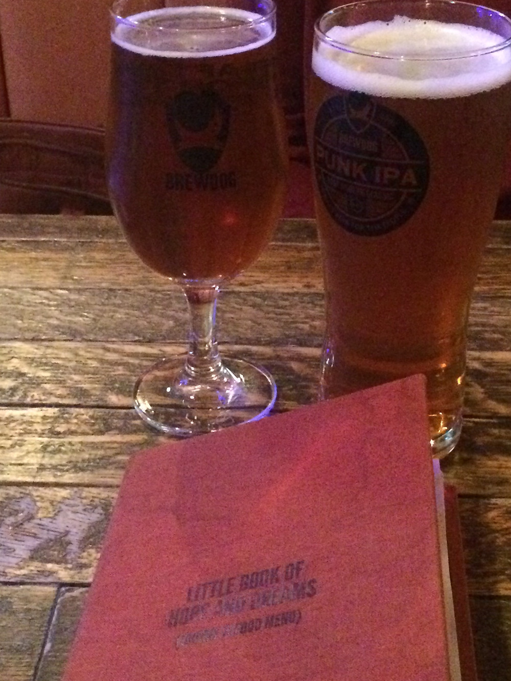 Beer School at the Brew Dog, Sheffield