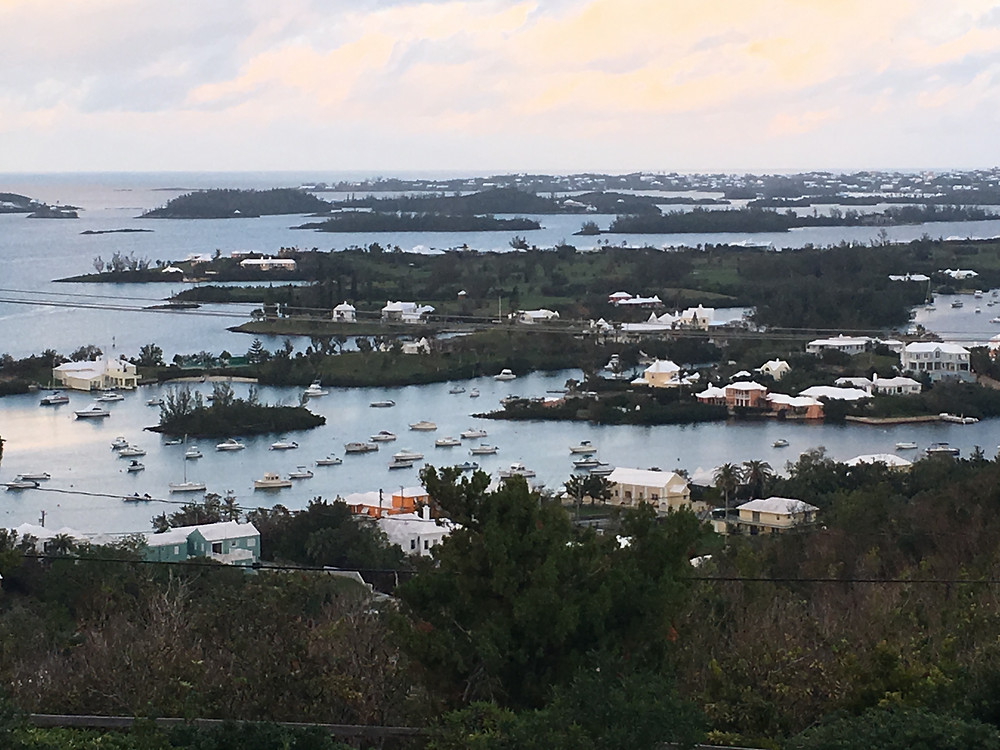 The View of Bermuda from Gibbs Hill Lighthouse