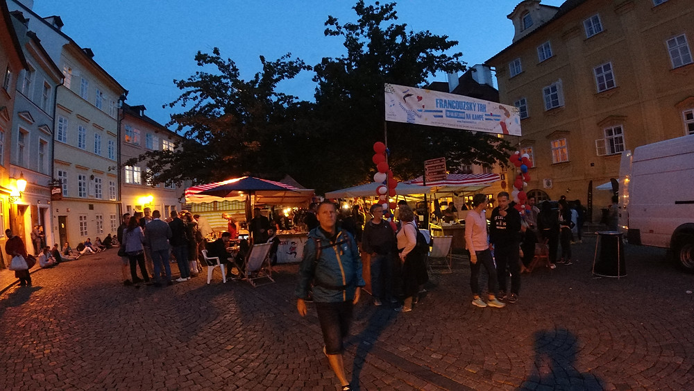 Night Market in Prague