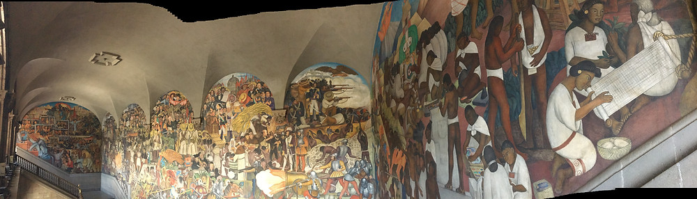 Murals in the National Palace