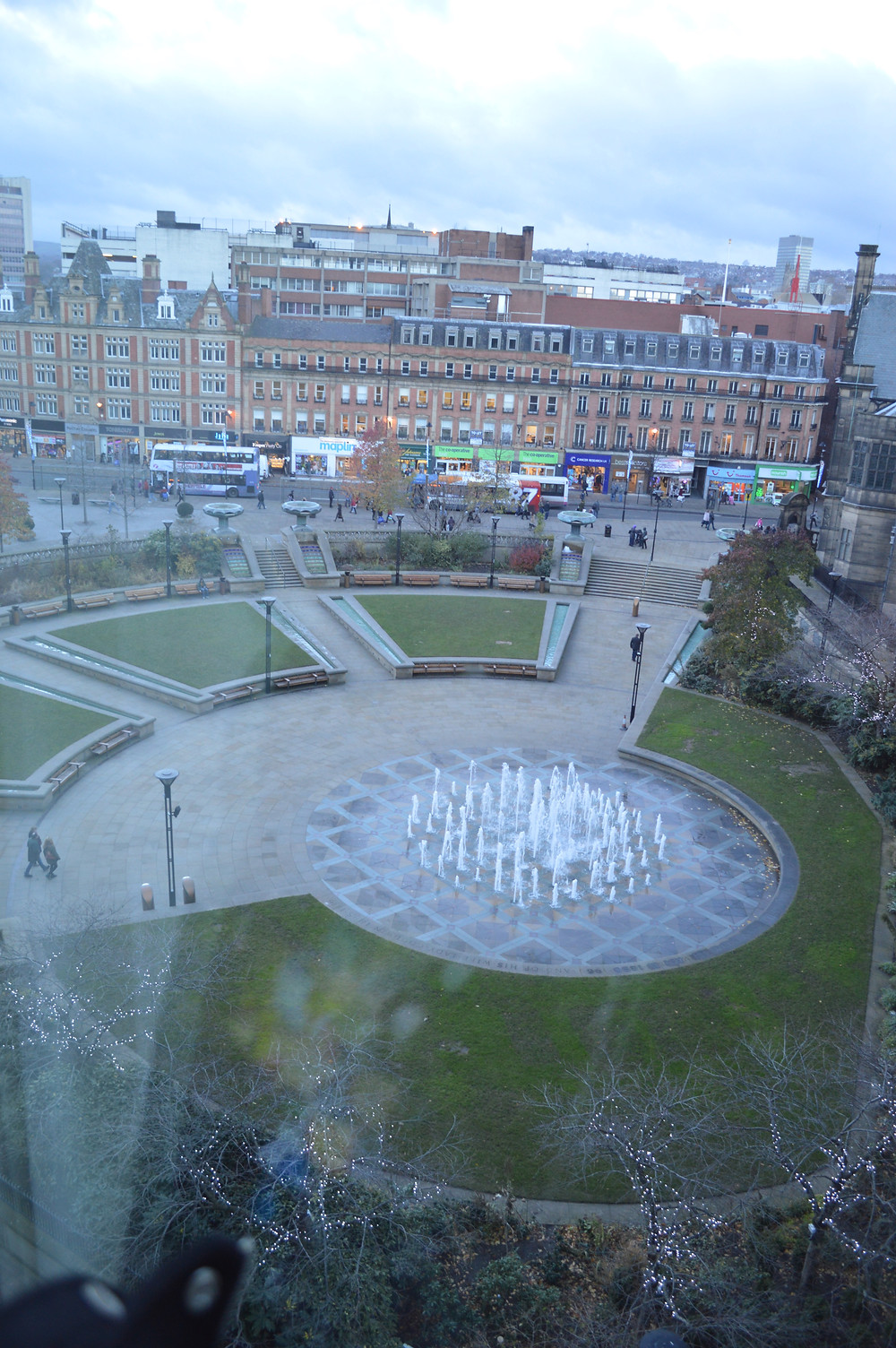 View from the Mercure hotel, Sheffield