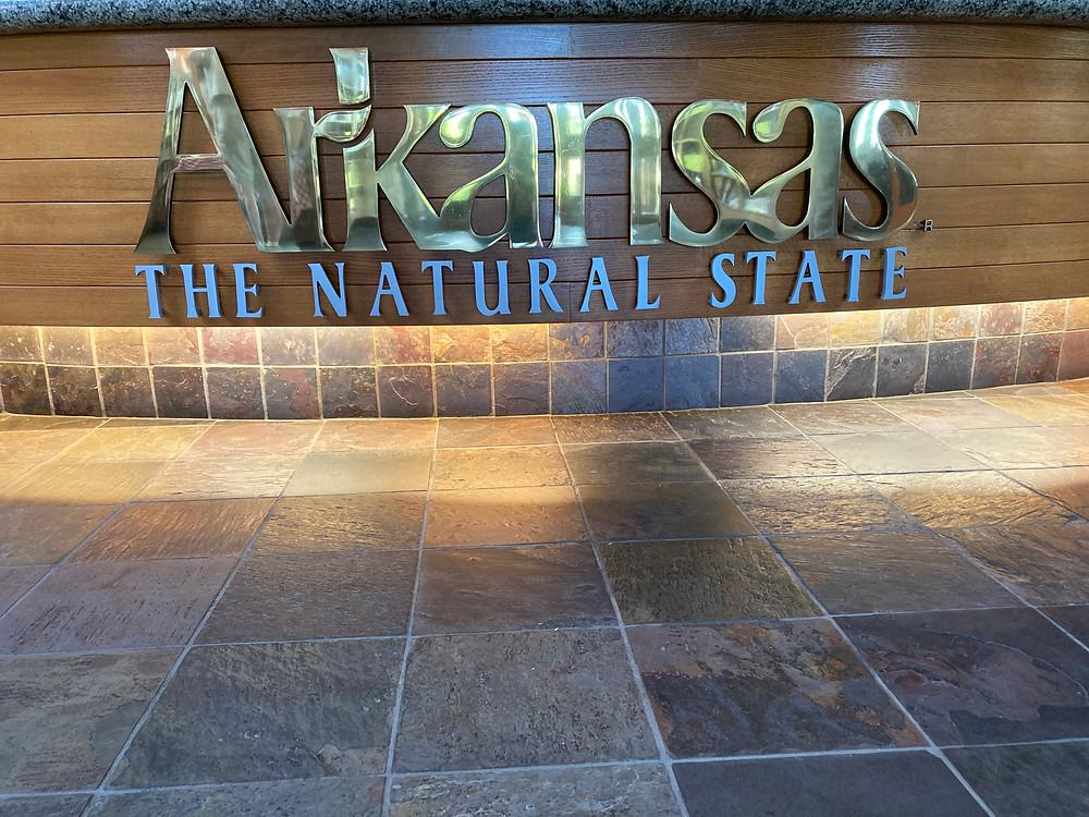 Rest stop in Texarkana, Arkansas