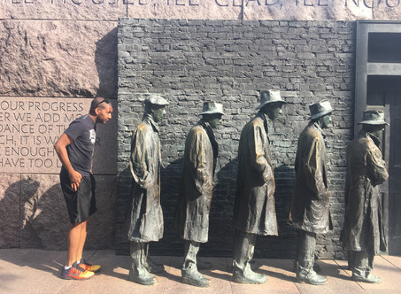 Touring Washington D.C