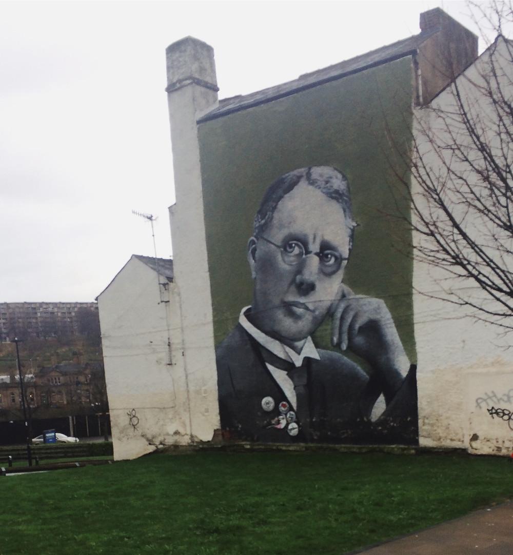 Interesting art on the campus of  Sheffield Hallam University