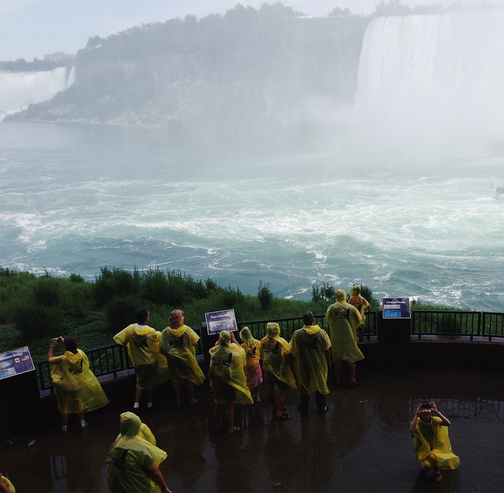 Journey Behind The Falls, Canadian Side only