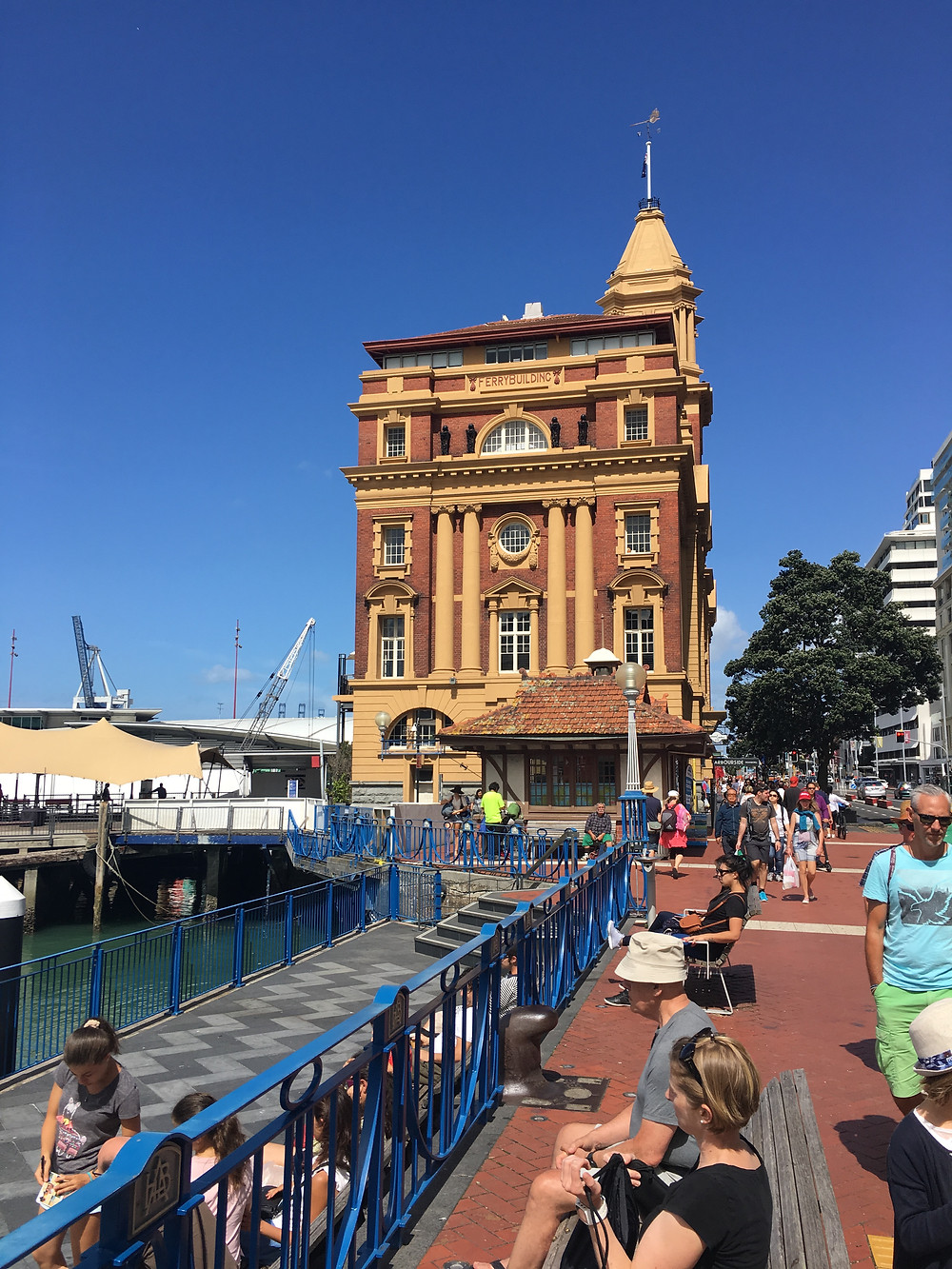 The downtown ferry building Aukland, NZ