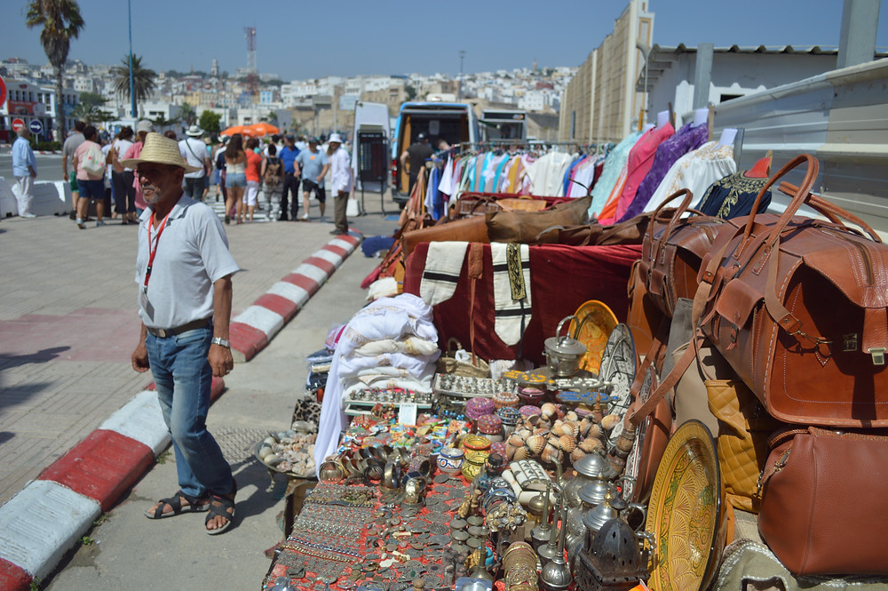 Street vendor in Port of Tangier