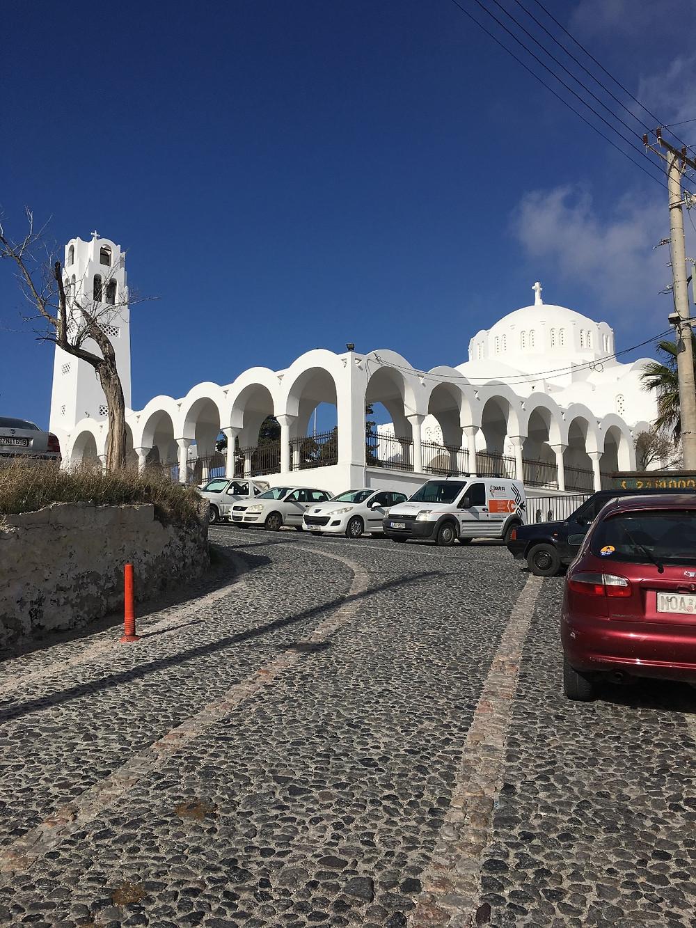 Orthodox Metropolitan Cathedral  Fira, Santorini